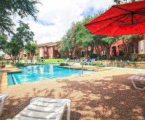 Pool, Cielo Azul