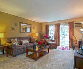 Living Room, Westmore Apartments