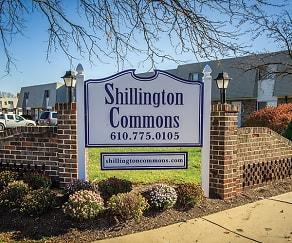 Community Signage, Shillington Commons Apartments