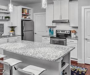Kitchen, Artisan Station Apartments