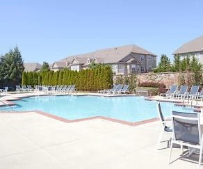 Pool, Parkland View Apartments
