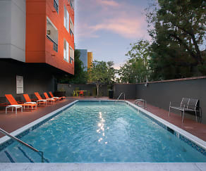 Pool, Artists Village Apartments