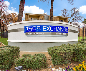 Community Signage, 1505 Exchange