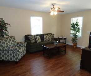 Living Room, Lakewood Duplex Homes