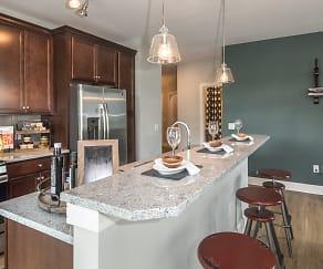 Kitchen, Eastampton Place Apartments