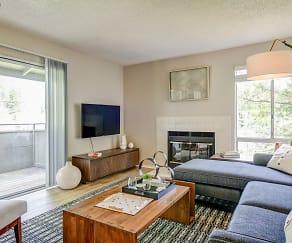 Living Room, The Vineyard Luxury Apartments