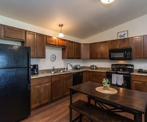 Kitchen, Western One Apartments