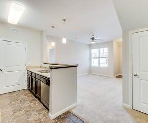Kitchen, 5700 Madison Apartments