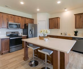 Kitchen, Smithfield Station Townhomes