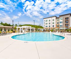 Pool, Flats at 540