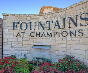 Community Signage, Fountains at Champions