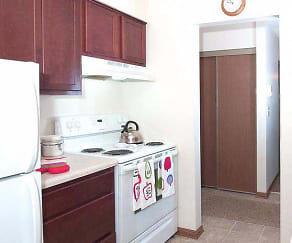 Kitchen, Goldenstar Apartments