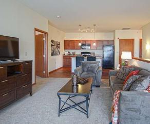Living Room, The Preserve at Prairie Creek