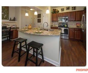 Kitchen, Park at Johns Creek Senior Residences