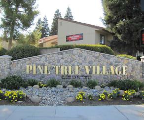 Community Signage, Pine Tree Village
