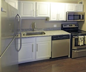 Kitchen, Bancroft Luxury Apartments