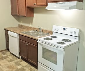 Kitchen, Cleveland Heights Apartments