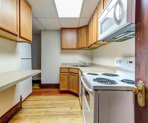 Kitchen, Jackson Apartments