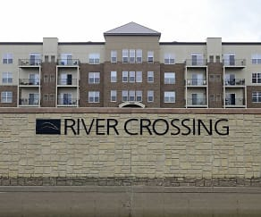 Community Signage, River Crossing Apartments And Townhomes