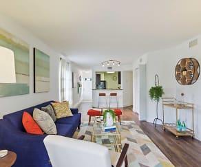 Living Room, Boca Arbor Club Apartments