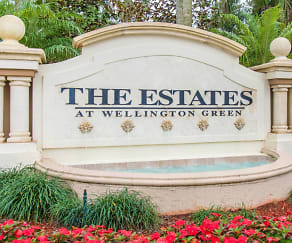 The Estates at Wellington Green - Entrance Sign, The Estates at Wellington Green Apartments