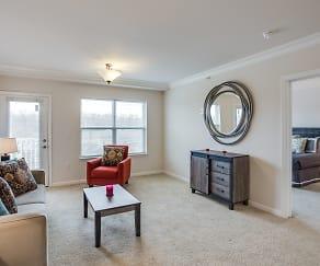 Living Room, Heritage Preserve Apartments