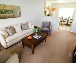 Living Room, Hillcrest - Senior 62+ Community