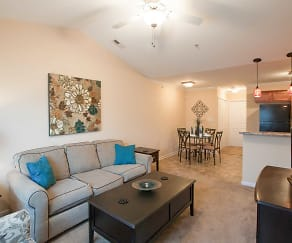 Living Room, Family Lodge Apartments