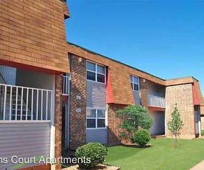 Building, Lions Court Apartments:  1200 Thompson Road