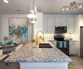 Kitchen, Cascades at Northlake by Cortland