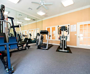 Fitness Weight Room, Brookwood Forest