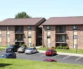 Building, Burnam Woods Apartments