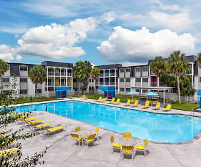 Pool, The Sapphire at Nassau Bay