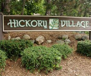 Community Signage, Hickory Village
