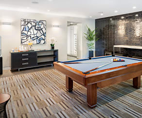 The Metro Club Lounge offers Starbucks Coffee and Billiards, The Metro by GDC