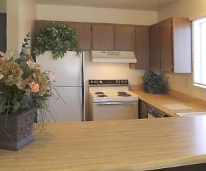 Kitchen, Plumas Garden