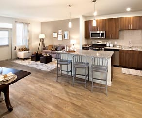 Open Concept Homes With Modern Kitchens, Avalon Easton Apartments