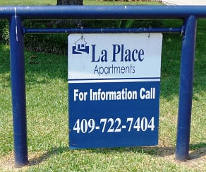 Community Signage, La Place Apartments