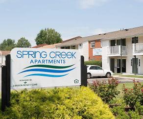 Community Signage, Spring Creek Apartments