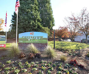 Community Signage, Greensview Apartments