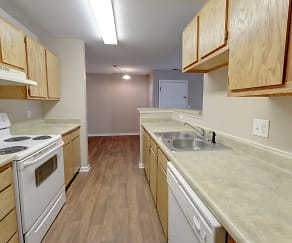 Kitchen, Deer Chase Apartments