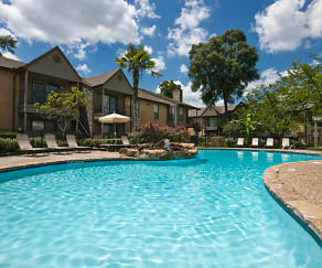 Pool, Elm Creek Apartments