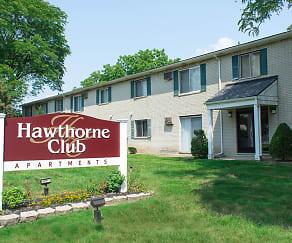Community Signage, Hawthorne Club