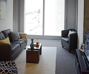 Living Room, evo at Cira Centre South