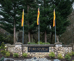 Community Signage, Forestview Apartments