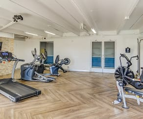 Fitness Weight Room, Uptown Square Apartments
