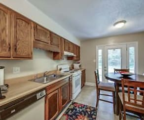 Kitchen, Raintree Apartments