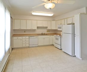 Kitchen, Oak Street Townhomes