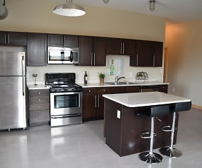 Kitchen, 501 Brady