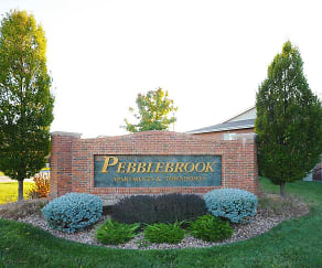 Community Signage, Pebblebrook Apartments And Townhomes